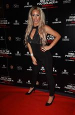 Danielle Mason Attend Rise of the Footsoldier 4: Marbella at Troxy in London