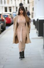 Demi Rose At the LullaBellz pop up boutique in London