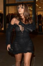 Demi Rose Mawby At The Skinny Tan Choc Range launch party, Madison, London