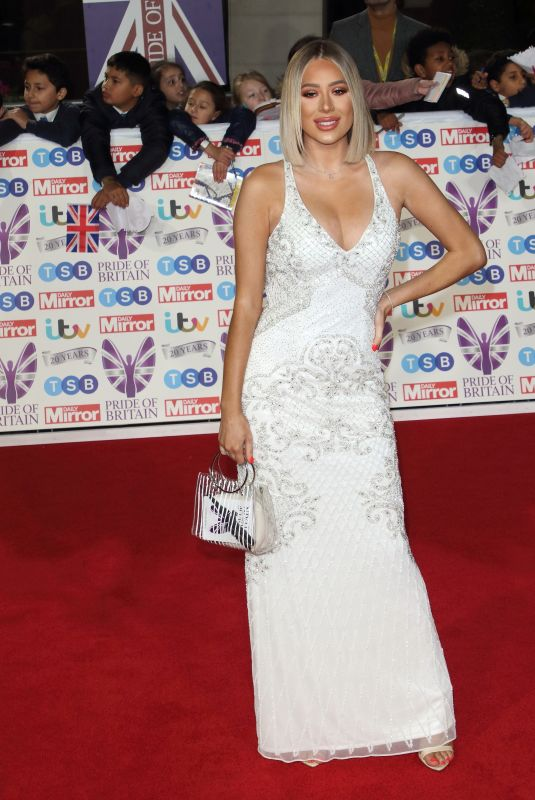 Demi Sims On the red carpet at The Daily Mirror Pride of Britain Awards, in partnership with TSB, London