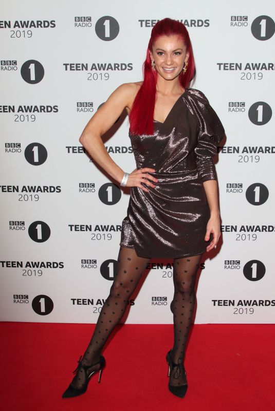 Dianne Buswell On the red carpet during the Radio One Teen Awards at BBC Television Centre in London
