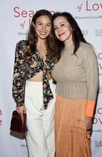 """Dominique Provost-Chalkley Arrives at the premiere of """"Season Of Love"""" at the Landmark Theater"""