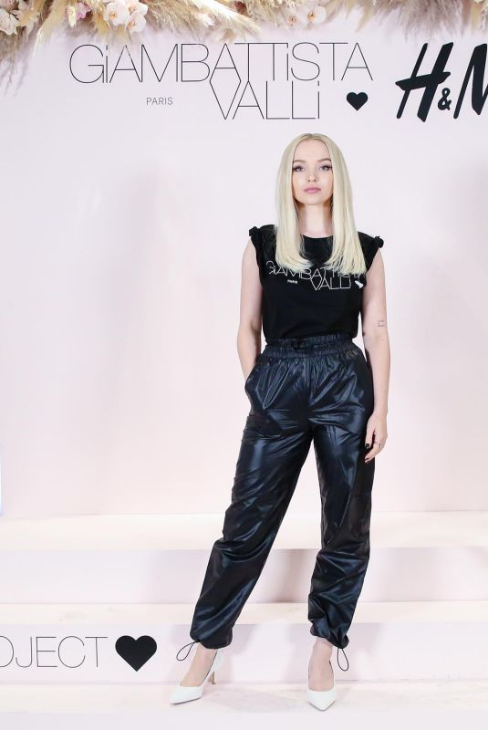 Dove Cameron At Giambattista Valli x H&M