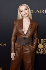 Dove Cameron At HFPA and THR Golden Globe Ambassador Party in West Hollywood