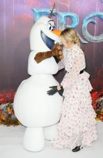Edith Bowman At The European Premiere of Frozen 2 in London