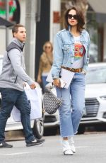 Eiza González Out for lunch in Studio City