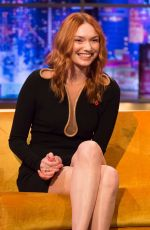 Eleanor Tomlinson At The Jonathan Ross Show