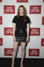 Eleanor Tomlinson At War Of The Worlds BBC Preview in London