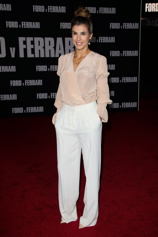 Elisabetta Canalis At Ford v Ferrari - Los Angeles Premiere at TCL Chinese Theatre, Hollywood