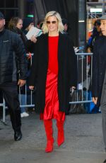 Elizabeth Banks Outside Good Morning America in New York