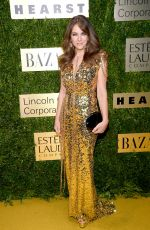 Elizabeth Hurley At An Evening Honoring Leonard A. Lauder in NYC