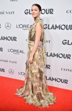 Ella Hunt At 2019 Glamour Women Of The Year Awards at Alice Tully Hall in New York City