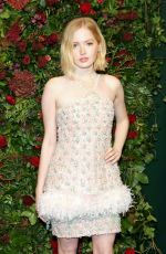 Ellie Bamber At 65th Evening Standard Theatre Awards in London