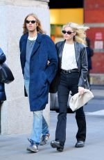 Elsa Hosk and Tom Daly are out for a stroll in SoHo