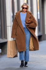 Elsa Hosk Out for a stroll through NY