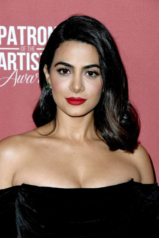 Emeraude Toubia At 4th Annual Patron Of The Artists Awards in Beverly Hills