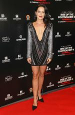 Emily Wyatt At UK Premiere of Rise of the Footsoldier 4: Marbella at The Troxy in London