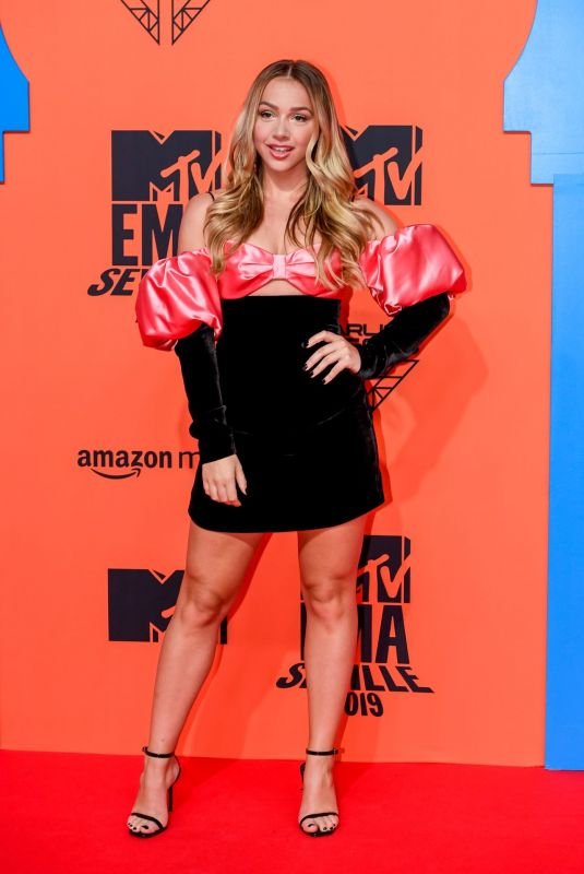 Emma Heesters At MTV European Music Awards 2019 in Seville, Andalusia, Spain