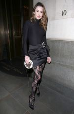Emma Miller At House of CB Christmas Party at Hotel Cafe Royal in London