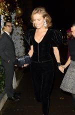Eva Herzigova Arrives at the Chopard event at Annabel