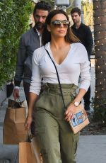 Eva Longoria Out shopping with her husband in Beverly Hills