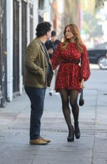 Eva Mendes Out for dinner in Los Angeles