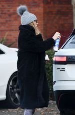 Ferne McCann Spotted out and wrapped up warm from the cold