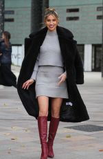 Ferne McCann Spotted outside the