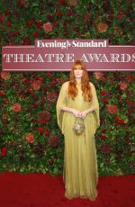 Florence Welch At 65th Evening Standard Theatre Awards at the London Coliseum in London