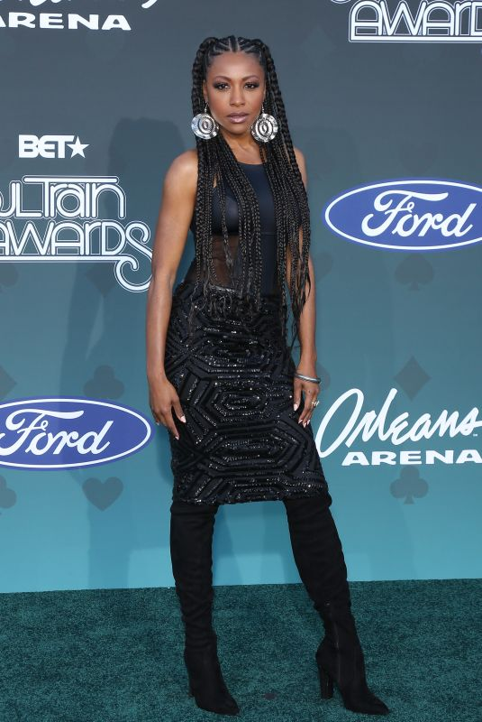 Gabrielle Dennis At 2019 Soul Train Awards at Orleans Arena in Las Vegas