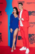Georgina Rodriguez At 26th MTV EMAs 2019 at FIBES Conference and Exhibition Centre in Seville
