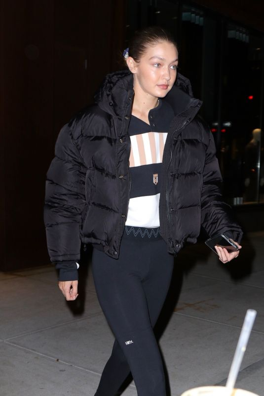Gigi Hadid Heads out for the evening in New York
