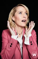 Gillian anderson For The Wrap, sex ed promo