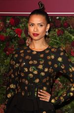 Gugu Mbatha-Raw Attends the 65th Evening Standard Theatre Awards at the London Coliseum in London