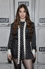 Hailee Steinfeld At Build Studio in NYC