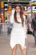 Hailee Steinfeld At Good Morning America in NY