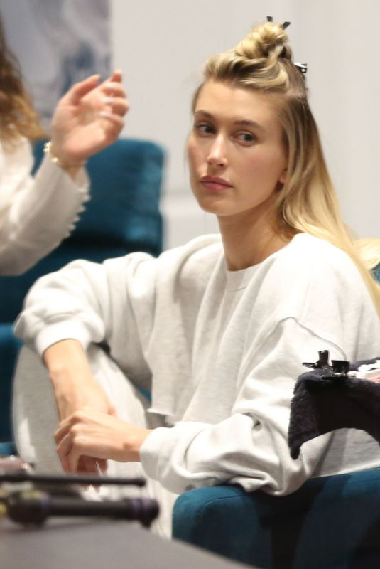 Hailey Bieber Hits the salon in Beverly Hills