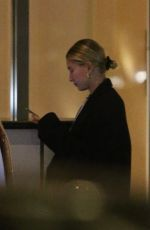 Hailey Bieber Out for dinner in Beverly Hills