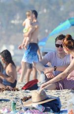Halsey and Evan Peters Had a romantic PDA at Santa Monica Beach in Los Angeles