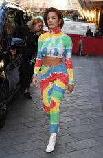 Halsey Arrives at Capital Breakfast at Global House in London