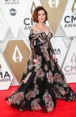 Halsey At 53rd Annual CMA Awards, Arrivals, Bridgestone Arena, Nashville