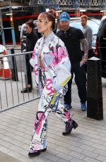Halsey Exits BBC Live lounge in London