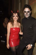 Hanna Miraftab Attend the PLT Halloween Party at Whiskey Down in Manchester