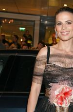 Hayley Atwell At 65th Evening Standard Theatre Awards in London
