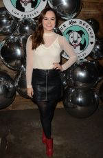 Hayley Orrantia At Love Leo Rescue Cocktails for a Cause in LA