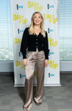 Hilary Duff At Daily Pop in Universal City