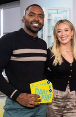 Hilary Duff Visits Daily Pop in Universal City