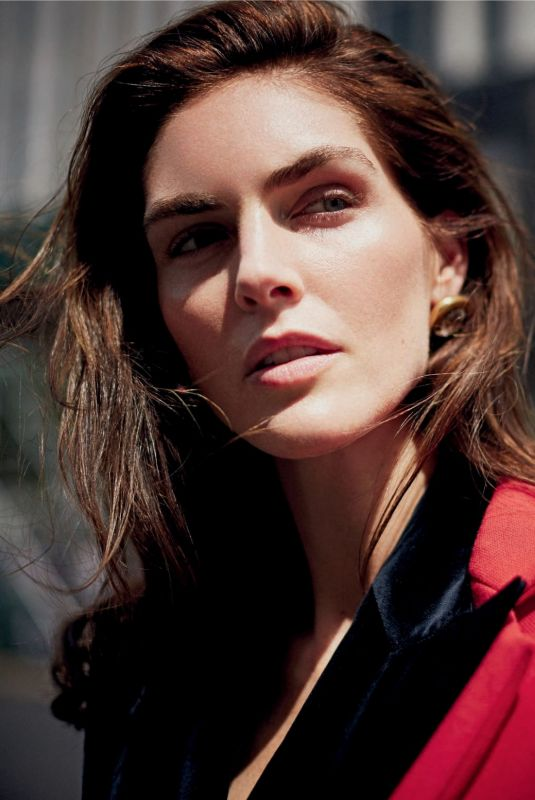 Hilary Rhoda - Elle Magazine Italy, December 2019