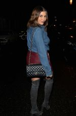 Imogen Thomas At MKNY House in Mayfair, London