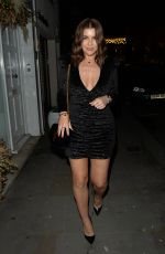 Imogen Thomas Seen at Jaks bar At Chelsea for her birthday party